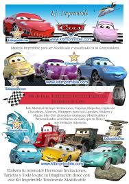 Kit Imprimible Cars 2 Disena Tarjetas Kit Imprimible Kit