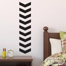Chevron Vinyl Wall Decal Nursery Toddler Room Geometric Wall Pattern