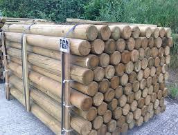 75mm Round Post Poles Hillsborough Fencing