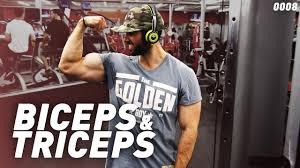 arm blaster bicep tricep workout