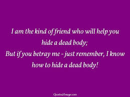 i am the kind of friend who will help friendship quotes image