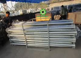 Durable Customized Design Solar Ground Screws Fence Post Ground Screw
