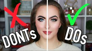 makeup mistakes to avoid do s don