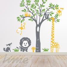 Jungle Safari Wall Decal Wall Graphics