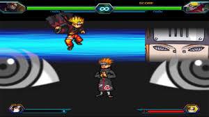 Naruto (Sage Mode) VS Pain - Bleach Vs Naruto 3.3 - YouTube