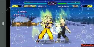 play psp dragon ball z game on android