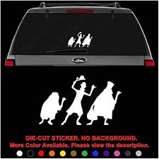 Amazon Com Haunted Mansion Die Cut Vinyl Decal Sticker For Car Truck Motorcycle Vehicle Window Bumper Wall Decor Laptop Helmet Size 6 Inch 15 Cm Wide Color Gloss Black Home Kitchen
