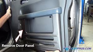 replace a window motor and regulator