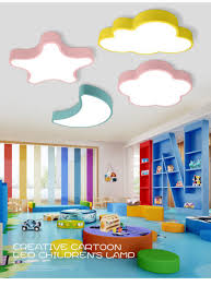 China Hot Sale New Design Kids Lights Flower Moon Star Cloud Ceiling Children Lamp Led Light For Kids Room Factory Wholesale China Modern Lighting Lighting Decoration