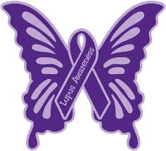 Amazon Com Lupus Awareness Butterfly 5 X5 Car Decal Sticker Arts Crafts Sewing