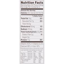 five cheese frozen pizza 19 8 oz pack