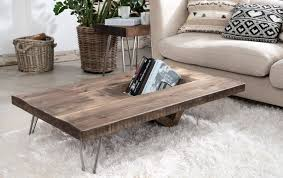 ouseburn solid wood coffee table with