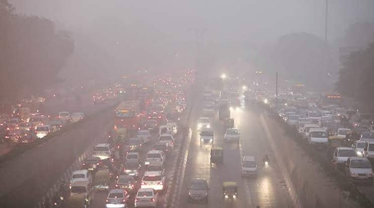 Image result for wind air pollution delhi""