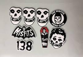 Misfits Sticker Pack Misfits Entertainment Memorabilia