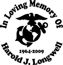 Usa Military Marines Crest Emblem Custom Memorial Die Cut Vinyl Car Decal Designer Series Decals In Loving Memory Car Window Decals