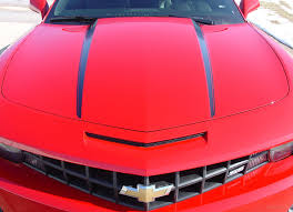 2010 2013 2014 2015 Chevy Camaro Hood Spears Vinyl Decal Graphics 3m Auto Motor Stripes Decals Vinyl Graphics And 3m Striping Kits