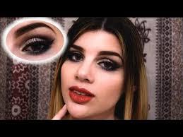 dark blue prom makeup tutorial