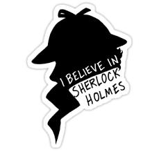 Believe In Sherlock Profile By Maskedfangirl Sherlock Print Stickers New Sticker