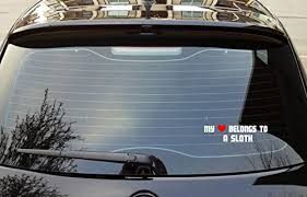 Sloth Bumper Stickers Decals And Magnets Archives Sharesloth