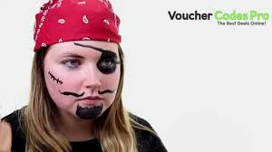 easy pirate face paint fancy dress