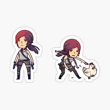 Lara Croft Stickers Redbubble