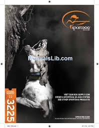 Sportdog Houndhunter 3225 Operating Manual Pdf Download Manualslib
