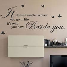 It Doesn T Matter Where You Go Butterfly Art Wall Sticker Quotes Wall Decals Wall Stickers Quotes Wall Quotes Decals Wall Decals