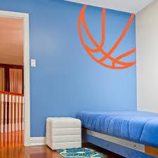 Corner Basketball Wall Decal Basketball Wall Sticker Wallums