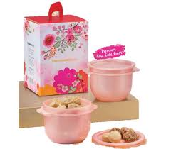 tupperware 2019 cny cookies gift