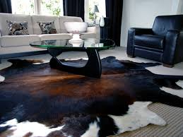 the origin of the cowhide rug city cows