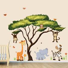 Palm Tree Wall Decals And Palm Tree Murals For A Jungle Or Beach Room