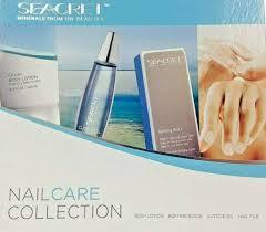 seacret nail care collection body