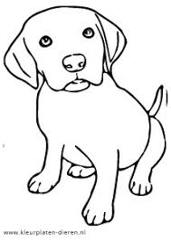 Kleurplaat Hond Kleurplaten Dierenkleurplaten Dieren