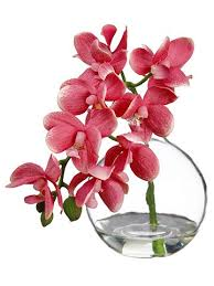 silk flowers and artificial plants at