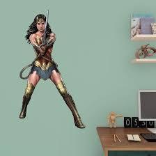 Dc Batman V Superman Wonder Woman Fathead Jr Wall Decal Allposters Com