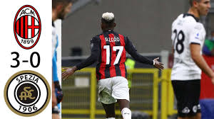 Milan vs Spezia 3-0 All Goals & Highlights - 2020 - YouTube