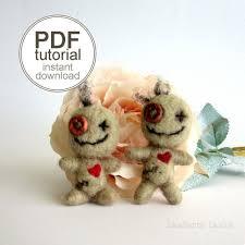 pdf needle felting tutorial voodoo doll