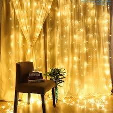 Dây đèn led dạng rèm trang trí 3m x 3m 16 dây HT580: Đèn nháy led đẹp
