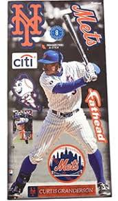 July 26 2015 New York Mets Vs Los Angeles Dodgers Curtis Granderson Wall Decal Stadium Giveaway Exchange