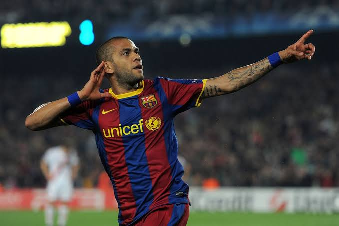 Image result for Dani Alves Barcelona""