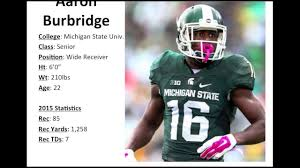First Sound: WR Aaron Burbridge - Play Strength & Competitive ...