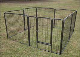 Eco Friendly Large Dog Fence Kennel Chain Link Dog Kennel Flooring