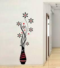 Beautiful Flower Pot Wall Sticker Home Decor Vinyl Decal Poster For Sale Online