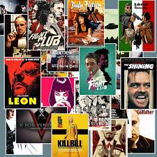 20 Pcs Classic Movie The Godfather Pulp Fiction Fight Club Kill Bill Leon Inglourious Basterds Stickers For Skateboard Laptop Luggage Wish