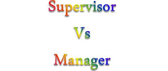 difference between supervisor and