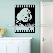 Fantastic Marilyn Monroe Wall Stickers For Living Room Or Home Decoration Buy Pvc Home Decor Wall Sticker Large Decorative Wall Stickers Removable Wall Stickers Product On Alibaba Com