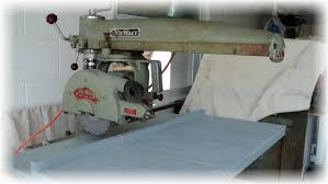 Sawtablesystem Radial Arm Saw