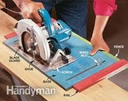 How To Use A Circular Saw Long Cuts Diy Family Handyman