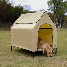 Amazon Com Lucky Dog Heavy Duty Welded Wire Dog Kennel With Cover And Frame 6 H X 4 W X 8 L Pet Kennels Pet Supplies