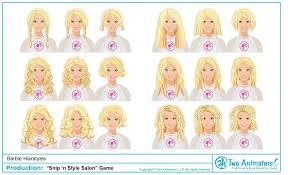 barbie hair salon games the